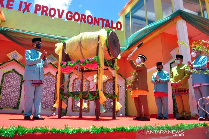 Wagub Gorontalo harap MTQ tidak ciptakan klaster baru COVID-19