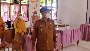 Pantau Vaksinasi di Sekolah, Wabup Gorut Ungkap soal Penolakan dari Warga